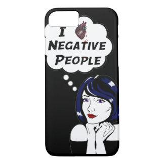 Pessoas negativas capa iPhone 7
