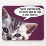 Pessoas que deiam gatos… mousepads