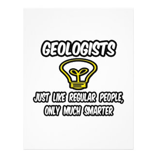 Pessoas regulares dos geólogos…, somente mais espe modelos de panfleto