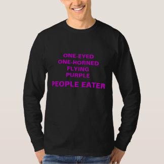 Pessoas roxas de voo do comedor t-shirt