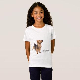 Pet a imagem para o t-shirt fino do jérsei das camiseta