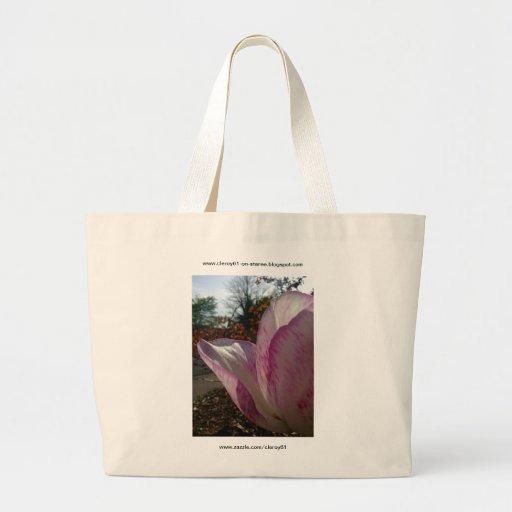 Pétalas da tulipa malva bolsa para compra