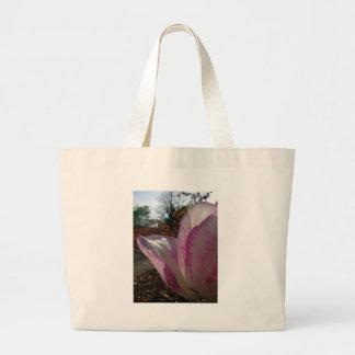 Pétalas da tulipa malva bolsas