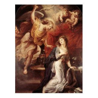 Peter Paul Rubens - o aviso Cartão Postal