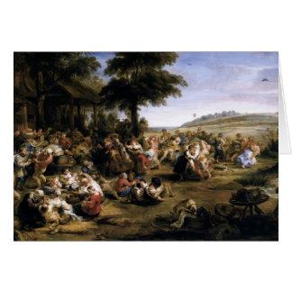 Peter Paul Rubens- o Kermesse Cartoes