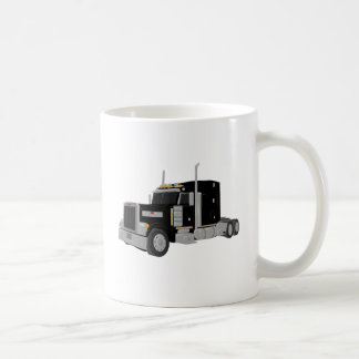 peter preto construído caneca de café