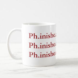 Ph.D. Caneca da conclusão