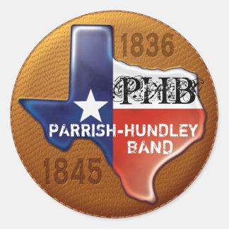 PHB Texas Stickers