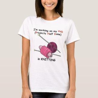 PhD na confecção de malhas Camiseta