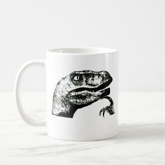 Philosoraptor - bom dia? caneca de café