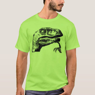 Philosoraptor - raptor do filósofo? camiseta