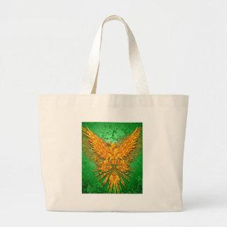 Phoenix verde bolsa de lona
