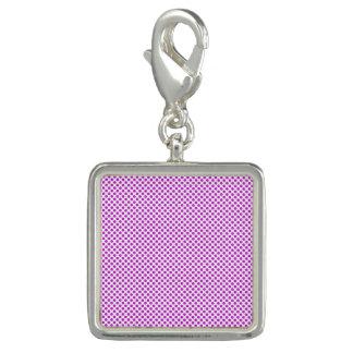 Photo Charm Bolinhas violetas do brilho