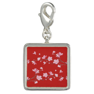 Photo Charm Flor de cerejeira - vermelho