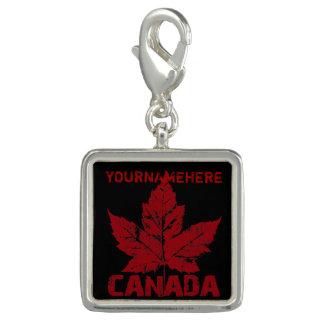 Photo Charm Jóia legal da lembrança de Canadá do costume dos