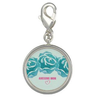 Photo Charm Mamã impressionante de 3 rosas da aguarela da