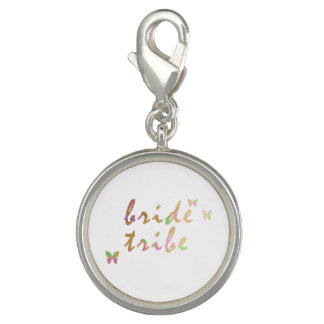 Photo Charm ouro elegante e tribo cor-de-rosa da noiva do ouro