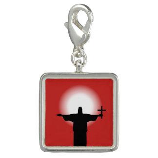 Photo Charm Silhueta com uma cruz