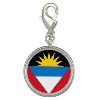 Photo Charms Bandeira patriótica de Antígua e de Barbuda