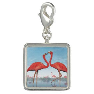Photo Charms Corte dos flamingos - 3D rendem
