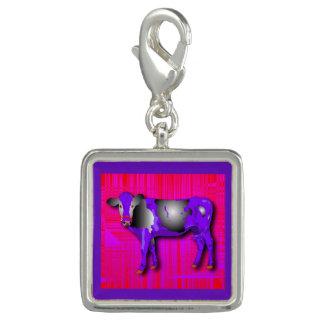 Photo Charms Encante com roxo, cor-de-rosa, vermelho, design da
