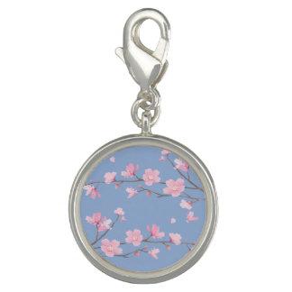 Photo Charms Flor de cerejeira - azul da serenidade