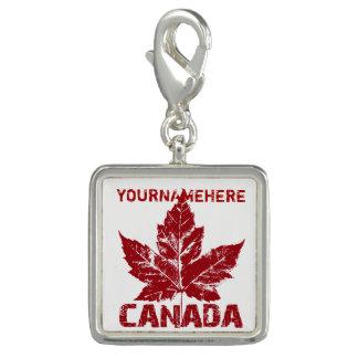 Photo Charms Jóia legal da lembrança de Canadá do costume dos