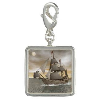 Photo Charms Sair do navio de pirata - 3D rendem