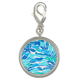 Photo Charms Surf do abstrato do azul