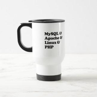 PHP de Mysql Apache Linux Caneca Térmica