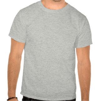 Pi em uma espiral - cor - camisa cinzenta t-shirt