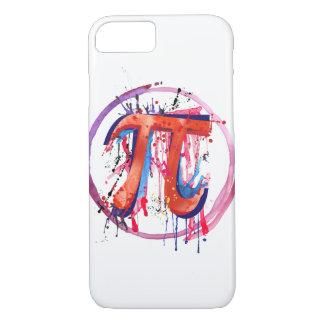 Pi emocional, arte da pintura da ação capa iPhone 8/ 7