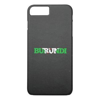 Pia batismal da bandeira de Burundi Capa iPhone 7 Plus