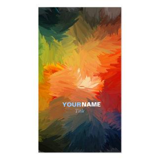 Pia batismal moderna cartão de visita