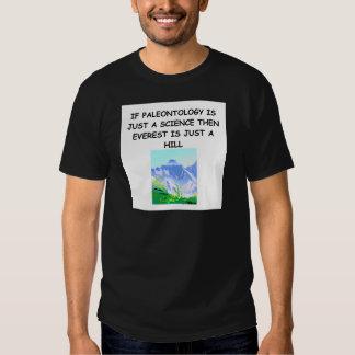 Piada da paleontologia tshirts