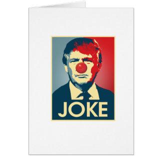 PIADA de Donald Trump -- Anti-Trunfo 2016 - Cartão
