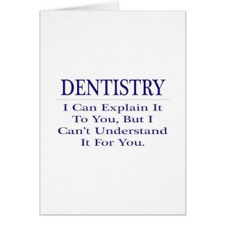 Piada do dentista. Explique para não compreender Cartões