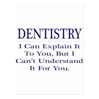 Piada do dentista. Explique para não compreender Cartao Postal