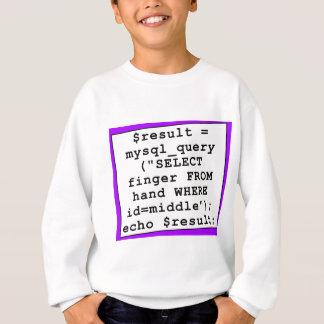 piada do mySql - programador de computador Agasalho