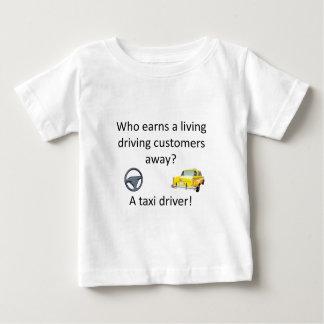 Piada do táxi camiseta para bebê