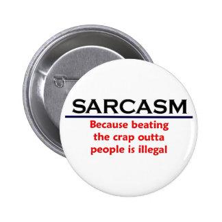 Piada engraçada do sarcasmo do KRW Botons
