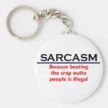 Piada engraçada do sarcasmo do KRW Chaveiros