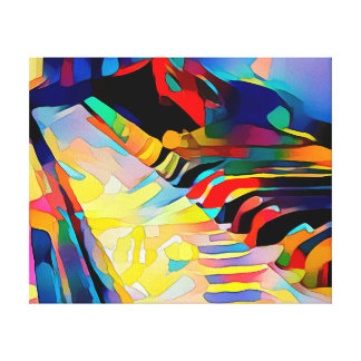 Piano - arte das canvas