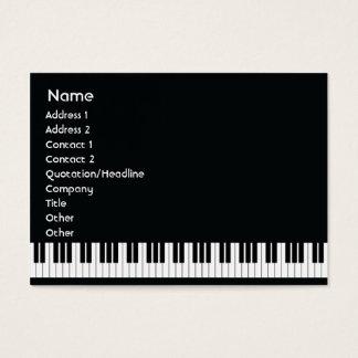 Piano - carnudo cartão de visitas
