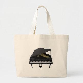 Piano de cauda preto: modelo 3D: Bolsa Para Compras