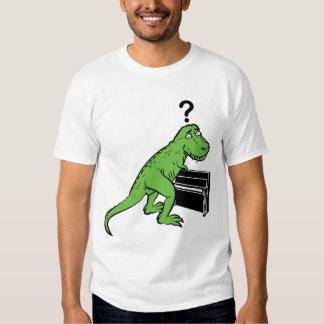 Piano de Dino Camisetas
