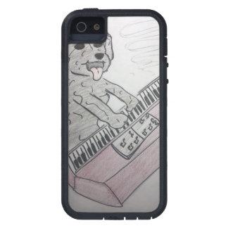 piano do filhote de cachorro capa para iPhone 5