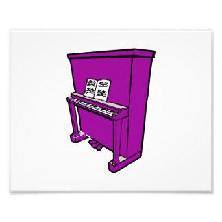 piano ereto roxo grande com music png fotografia