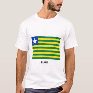 Piauí, bandeira de Brasil Camiseta