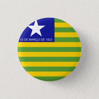 Piauí, botão brasileiro da bandeira do estado bóton redondo 2.54cm